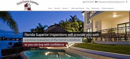 Florida Superior Home Inspection Tampa