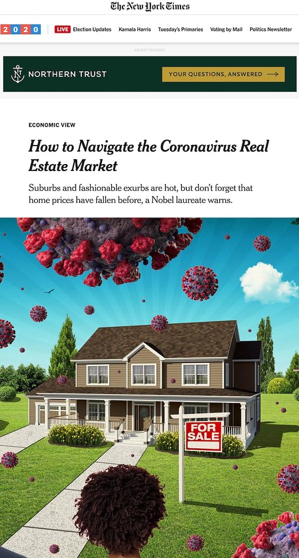 Effects of Coronavirus On Real Estate Market